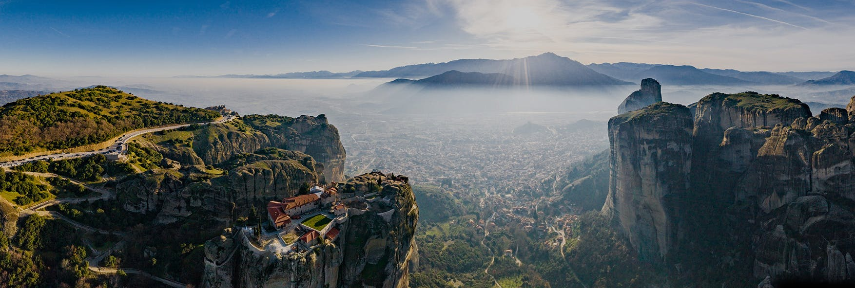 View from Meteora